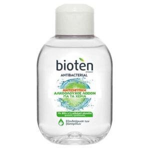 Bioten Antibacterial Αντισηπτική Αλκοολούχος Λοσιόν Για Τα Χέρια 100ml