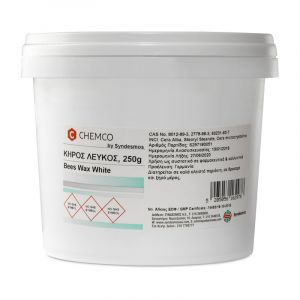 Chemco Beeswax White (Κήρος Μέλισσας Λεύκος) Ph.Eur. 250g