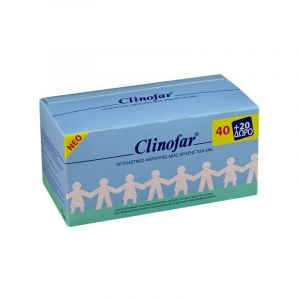 Clinofar Αποστειρωμένος Φυσιολογικός Ορός 40 & 20 Αμπούλες Δώρο