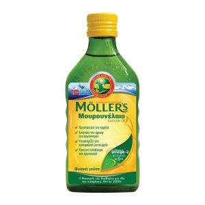 Mollers Μουρουνελαιο Natural Παραδοσιακό Σε Υγρή Μορφή Με Την Κλασσική Γεύση 250ml   Dpharmacy.gr