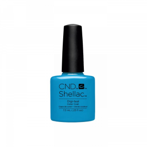 Cnd Shellac Digi - Teal Color Coat Ημιμόνιμο Βερνίκι 7.3ml