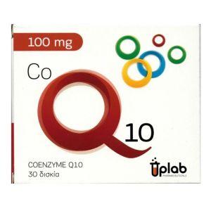 Uplab Coenzyme Q10 Φόρμουλα με Συνένζυμο Q10 100mg για τη Φυσιολογική Λειτουργία του Καρδιαγγειακού Συστήματος 30 Δισκία