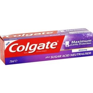 Colgate Cavity Protection Whitening Οδοντόκρεμα 75ml