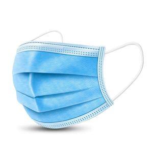 Disposable 3-Layer Mask Μάσκα Προστασίας Προσώπου Με Ειδικό Έλασμα 1τμχ