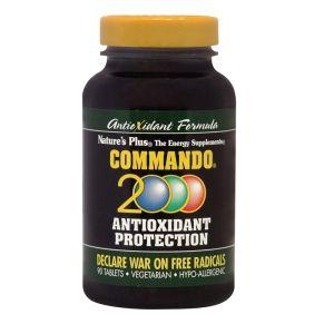 Natures Plus Commando 2000 Αντιοξειδωτική Προστασία 90 Κάψουλες