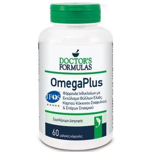 Doctor's Formulas Omegaplus Φόρμουλα Ιχθυελαίων 60caps