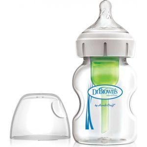 dr-brown-s-options-mpimpero-plastiko-me-fardu-laimo-thili-silikonis-150ml