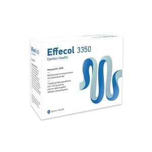 Epsilon Health Effecol 3350 Για Την Αντιμετώπιση Της Δυσκοιλιότητας 12 Φακελίσκοι