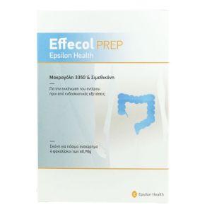 Epsilon Health Effecol Prep Σκόνη για την Αντιμετώπιση της Περιστασιακής & Χρόνιας Δυσκοιλιότητας 4 Φακελίσκοι x 60.98gr