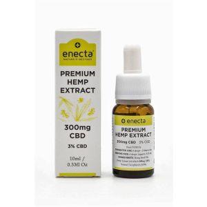 Enecta Premium Hemp Extract 3% Cbd Eλαιο Κανναβης 300Mg 10ml