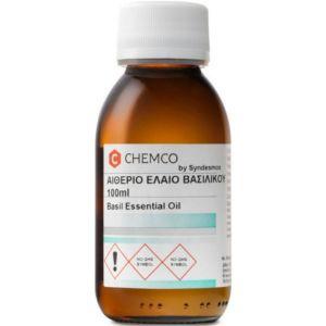 Σύνδεσμος Chemco Αιθέριο Έλαιο Βασιλικού 100ml