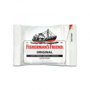 Fisherman's Friend Original Extra Strong Μέντα & Ευκάλυπτος Για Το Βήχα & Τον Ερεθισμένο Λαιμό 25gr
