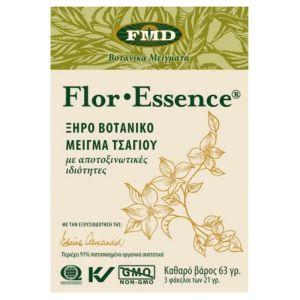 Flora Flor Essence Dry Herbal Tea Blend Ξηρό Βοτανικό Μείγμα Τσαγιού Με Αποτοξινωτικές Ιδιότητες 3x21 φακελάκια