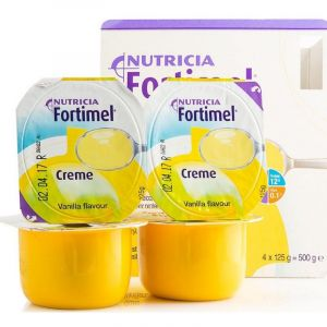 Nutricia Fortimel Κρέμα Βανίλια 4x125gr