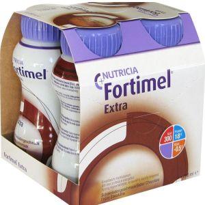 Nutricia Fortimel Extra Πρωτεϊνούχο Ρόφημα Με Γεύση Σοκολάτα 4x200ml 3+ ετών