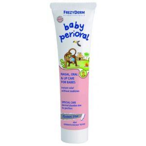 Frezyderm Baby Perioral Μαλακτική Κρέμα Για Την Περιποίηση Της Ρινοστοματικής Περιοχής Των Βρεφών 40ml