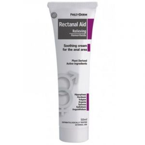Frezyderm Rectanal Aid Cream Kαταπραυντική Κρέμα Για Τις Αιμορροΐδες 50ml