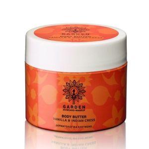 Garden Vanilla & Indian Cress Body Butter Θρεπτικό & Ενυδατικό Βούτυρο Σώματος Με Βανίλια & Ινδοκάρδαμο 200ml