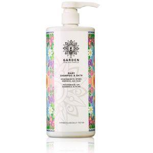 Garden Baby Shampoo & Bath Απαλό Βρεφικό Σαμπουάν & Αφρόλουτρο 1L