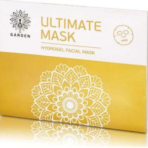 Garden Ultimate Hydrogel Facial Mask Ενυδατική & Συσφικτική Μάσκα Προσώπου Με Χρυσό & Κολλαγόνο 2τμχ