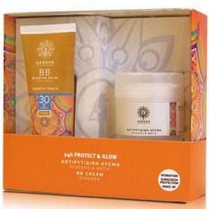 Garden Of Panthenols Promo Αντιρυτιδική Κρέμα Προσώπου & Ματιών 50ml & BB Blemish Balm Face Cream SPF30+ 50ml