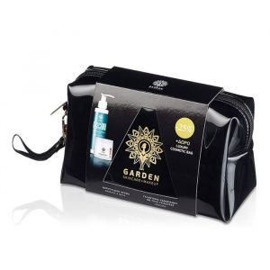 Garden Anti-Wrinkle & Cleansing Milk Luxury Bag Set Αντιρυτιδική Κρέμα για Πρόσωπο και Μάτια 50ml & Αφρό Καθαρισμού 100ml & Nεσεσέρ