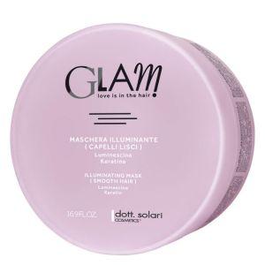 Glam Illuminating Smooth Hair Επαγγελματική Μάσκα Λείανσης & Λάμψης Για Ίσια Μαλλιά 500ml