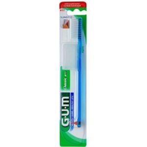 Gum Classic 411 Full Soft Οδοντόβουρτσα Πολύ Μαλακή Σε Διάφορα Χρώματα 1τμχ