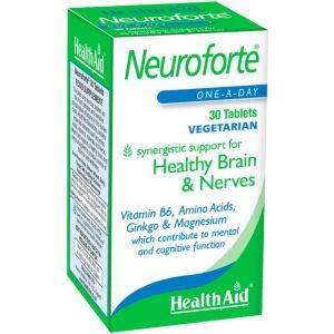 Health Aid Neuroforte™ Για Υγιές Νευρικό Σύστημα & Υγιή Εγκέφαλο 30 Φυτικές Ταμπλέτες