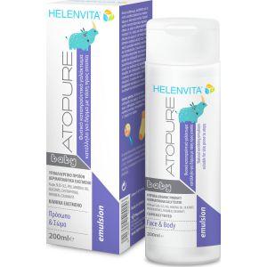 Helenvita Atopure Baby Emulsion - Βρεφικό Καταπραϋντικό Γαλάκτωμα για Δέρμα με τάση για Ατοπία 200ml