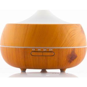 InnovaGoods  Wooden-Effect Home Deco Υγραντήρας Διάχυσης Αρωμάτων LED 1τμχ