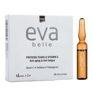 Intermed Eva Belle Proteoglycans & Vitamin C Αμπούλες Με Αντιγηραντική Δράση Για Κουρασμένο Δέρμα 5x2ml