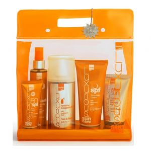 Intermed Set Luxurious Sun Care High Protection Σετ Πακέτο Αντιηλιακής Προστασίας Με Υαλουρονικό Οξύ Με 5 Προϊόντα