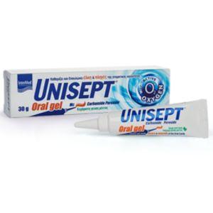 Intermed Unisept Oral Gel για Επούλωση Στοματικού Βλεννογόνου & Ούλων 30gr