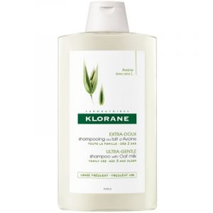 Klorane Avoine Ultra Gentle Shampoo With Oat Milk Σαμπουάν Με Γαλάκτωμα Βρώμης Για Τα Ευαίσθητα Μαλλιά 400ml