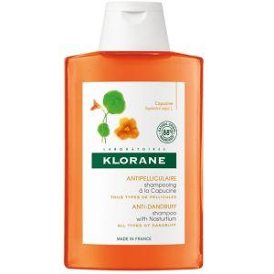 Klorane Capucine Shampoo Anti-Dandruff & Purifying Σαμπουάν Αγωγής Κατά Της Ξηρής Πιτυρίδας Με Εκχύλισμα Καπουτσίνο 200ml