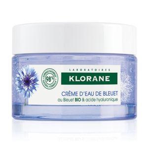 Klorane Bleuet Ενυδατική Κρέμα Ημέρας Με Φυτικό Υαλουρονικό Οξύ 50ml