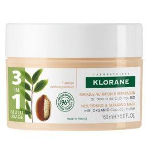Klorane Cupuacu Μάσκα Μαλλιών Για Θρέψη & Επανόρθωση Mε Βούτυρο Cupuacu Για Ξηρά Μαλλιά 150ml