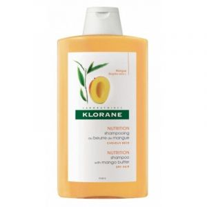 Klorane Shampoo Mangue Σαμπουάν με Βούτυρο Μάνγκο για Ξηρά Μαλλιά 400ml