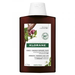 Klorane Shampoo Quinine Σαμπουάν με Κινίνη για Τριχόπτωση & Αδύναμα Μαλλιά 400ml