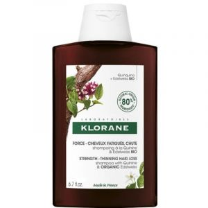 Klorane Force Shampoo Anti Hair Loss With Quinine Σαμπουάν Κατά της Τριχόπτωσης Με Εκχύλισμα Κινίνης & Βιολογικό Εντελβάϊς 200ml