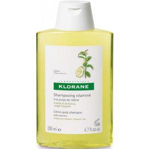 Klorane Σαμπουάν Κίτρο Λάμψη Για Κανονικά Μαλλιά Με Τάση Λιπαρότητας 200ml