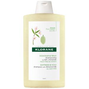Klorane Shampoo Amande Σαμπουάν με Γάλα Αμυγδάλου Για Λεπτά Μαλλιά 400ml