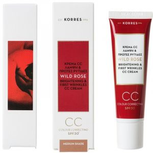 Korres Άγριο Τριαντάφυλλο CC Cream SPF30 Medium 30ml