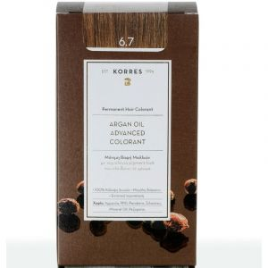 Korres Argan Oil Advanced Colorant Βαφή Μαλλιών 6.7 Κακάο 50ml