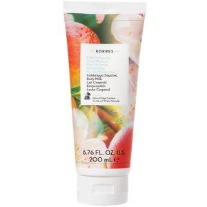Korres Peach Blossom Body Milk Γαλάκτωμα Σώματος Άνθη Ροδακινιάς 200ml
