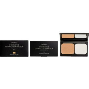 Korres Corrective Compact Foundation SPF20 Activated Charcoal ACCF2 Διορθωτικό Compact Make Up με Ενεργό Άνθρακα 9.5gr