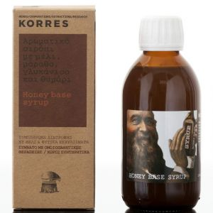 Korres Σιρόπι Αρωματικό Με Μέλι, Μάραθο, Γλυκάνισο & Θυμάρι Νάξου 200ml