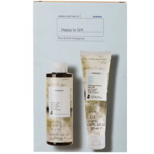 Korres Promo Set Pure & Soft Indulgence Πακέτο Αφρόλουτρο Γιαούρτι 250ml & Γαλάκτωμα Σώματος 125ml