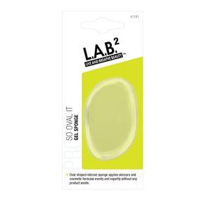 L.A.B 2 So Oval It Σφουγγάρι Σιλικόνης Για Μακιγιάζ & Καθαρισμό 1τμχ